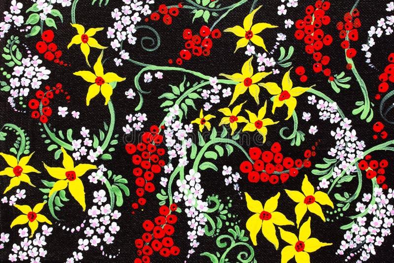 Flor de la pintura imagen de archivo