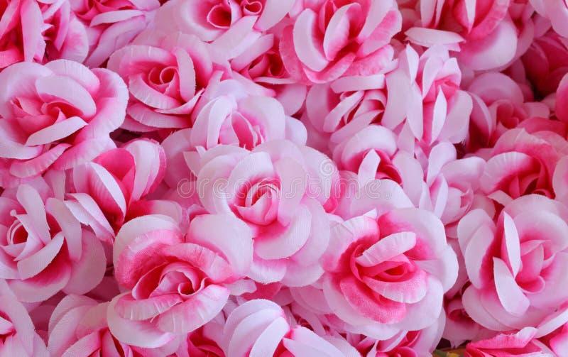 Flor de la tela, fondo floral foto de archivo libre de regalías