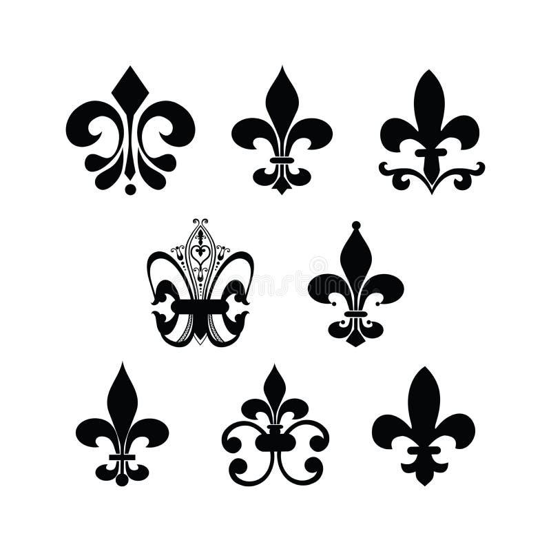 Flor de lis ilustração royalty free