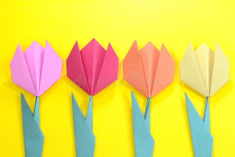 Flor de Origami foto de stock royalty free
