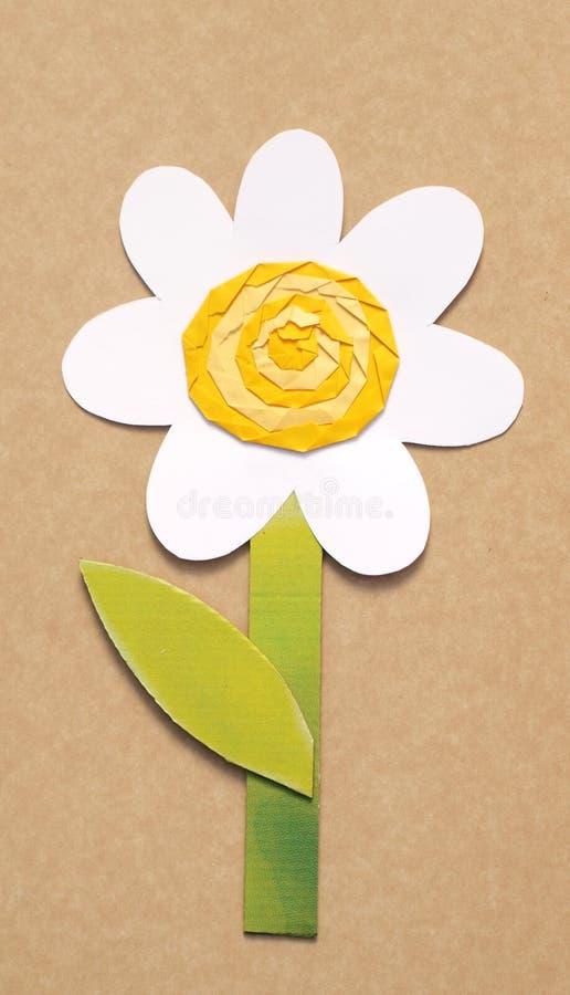 Flor de papel imagem de stock royalty free