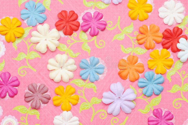Flor de papel foto de stock