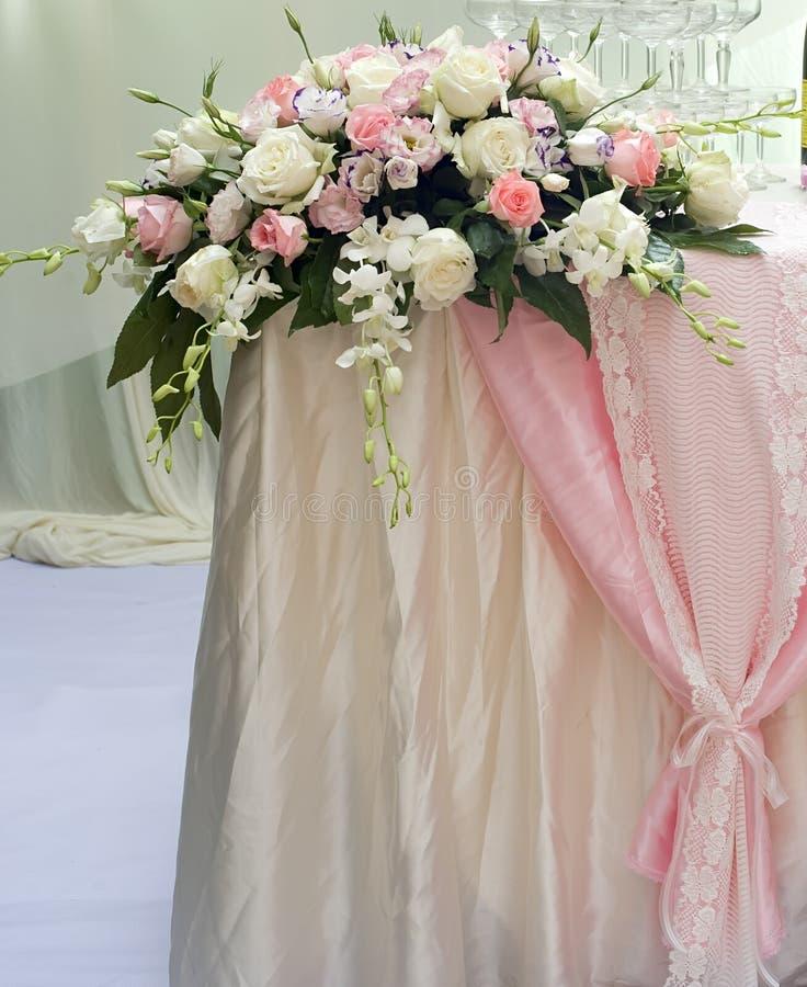 Flor de Rosa no casamento. fotos de stock