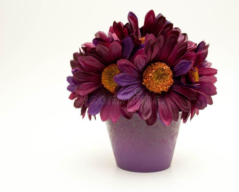 Flor de seda púrpura fotos de archivo libres de regalías