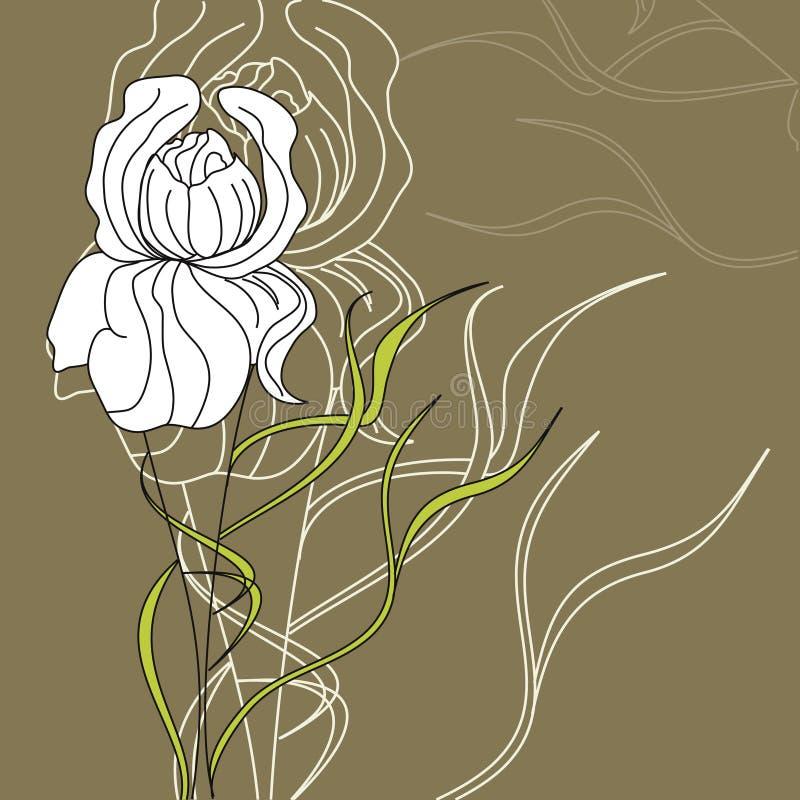 Flor decorativa libre illustration