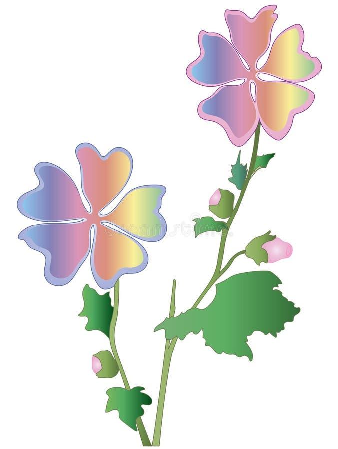 Flor del arco iris foto de archivo