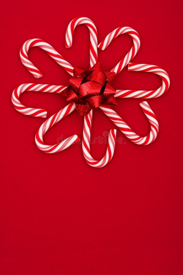 Flor del bastón de caramelo imágenes de archivo libres de regalías