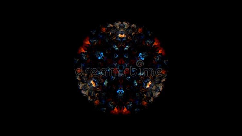 Flor del caleidoscopio Textura del caleidoscopio del color Textura del caleidoscopio del color como fondo abstracto muy bonito foto de archivo libre de regalías