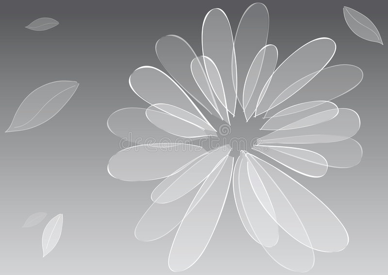 Flor del fondo ilustración del vector