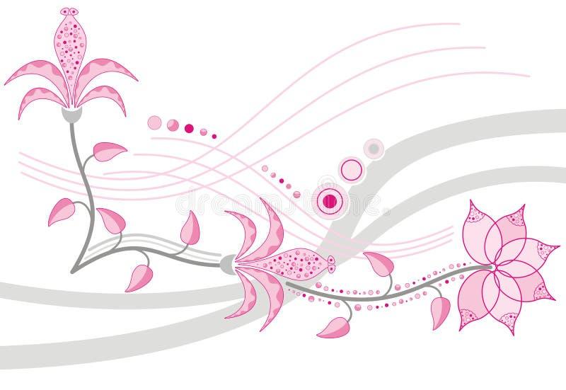 Flor del fondo, elemento para el diseño, vector stock de ilustración