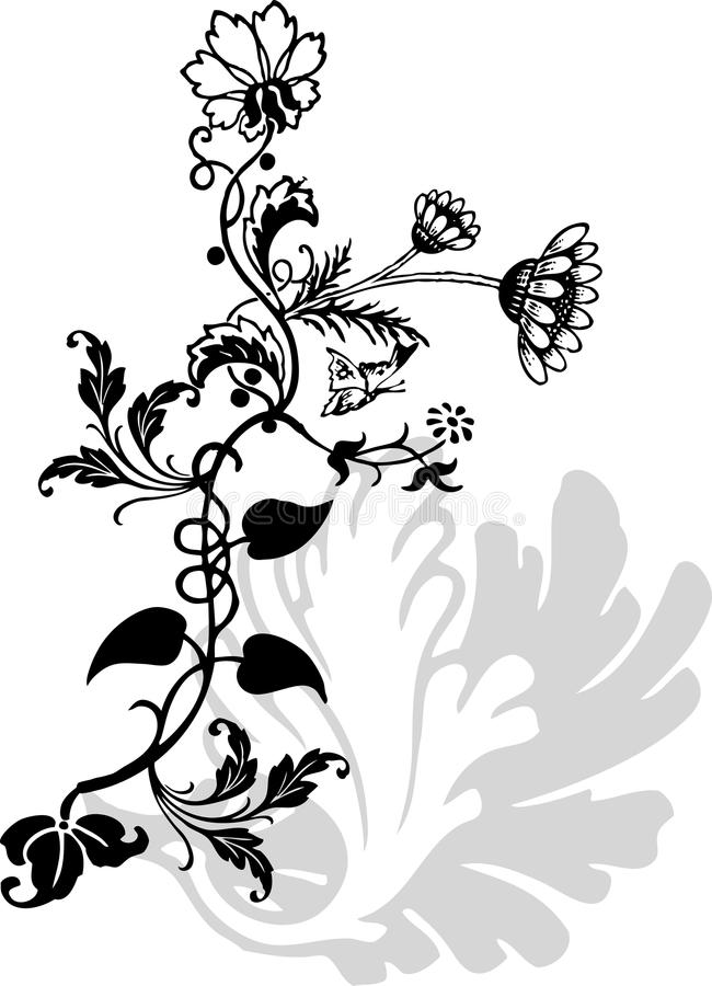Flor del ornamento libre illustration