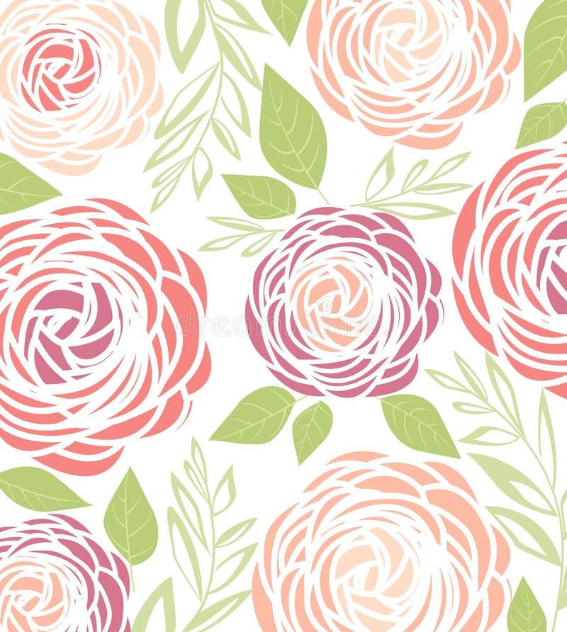 Flor del ranúnculo del vector ilustración del vector