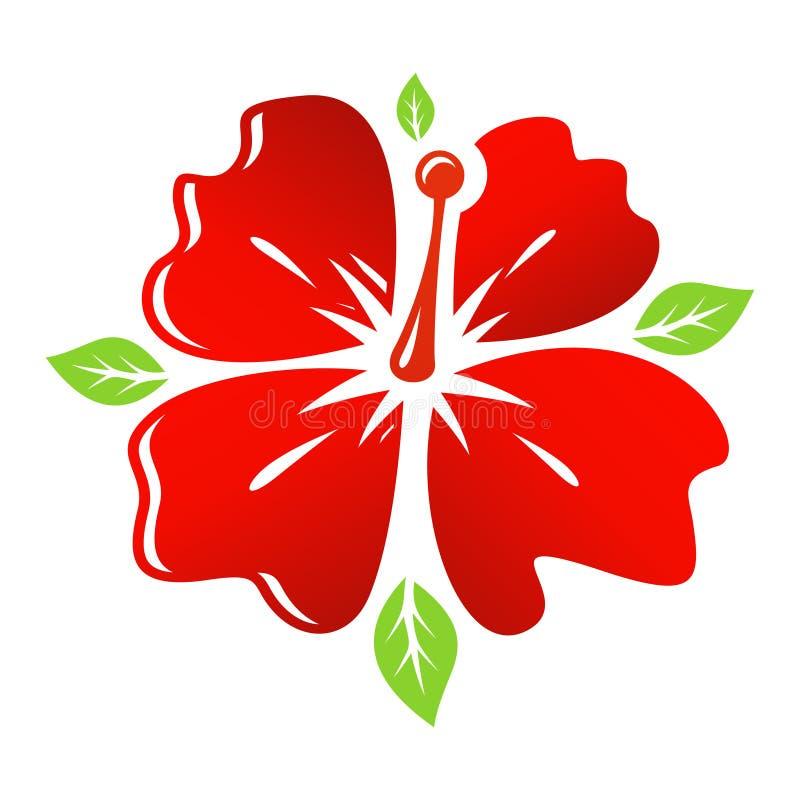 Download Flor del rojo del vector stock de ilustración. Ilustración de extracto - 42434949
