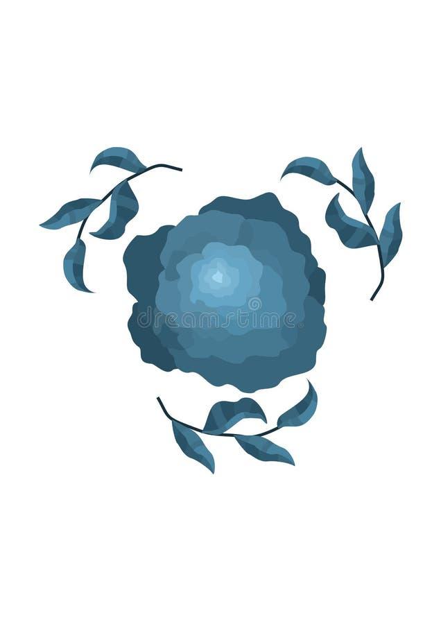 Flor del vector fotos de archivo libres de regalías