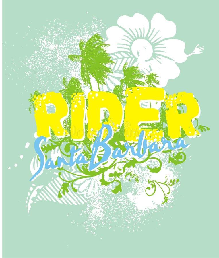 Flor del verano stock de ilustración