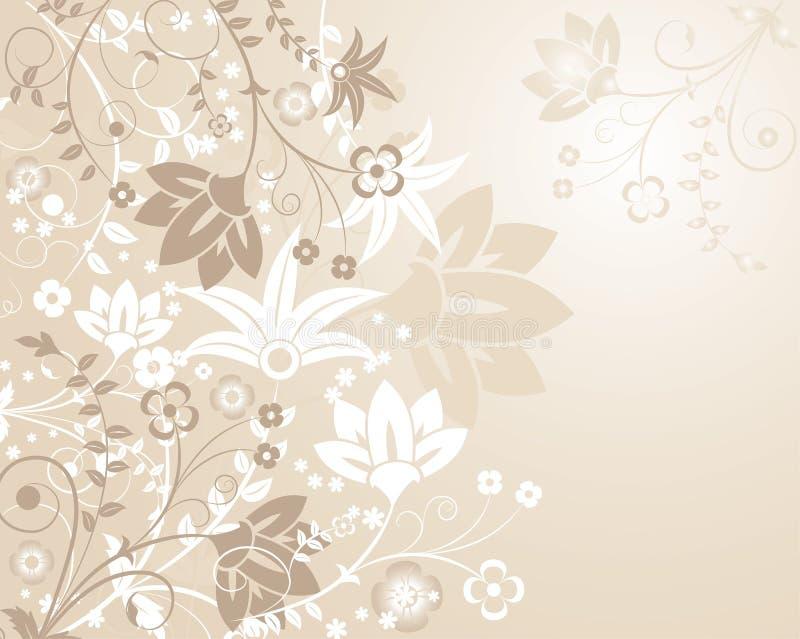 Flor do fundo, elementos para o projeto, vetor ilustração do vetor