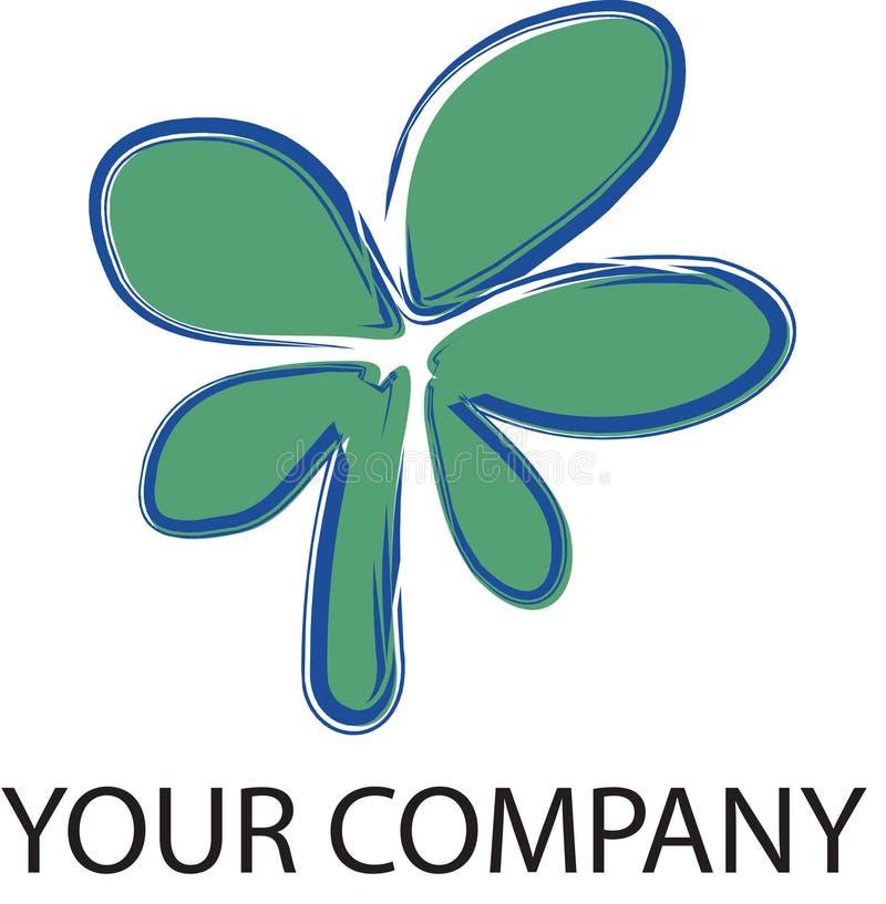 Flor do logotipo ilustração do vetor