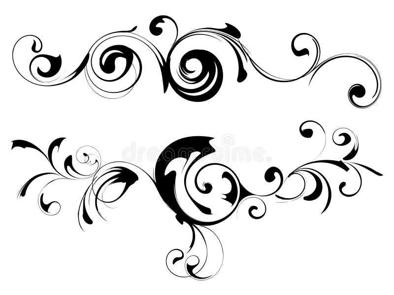 Flor do teste padrão ilustração stock