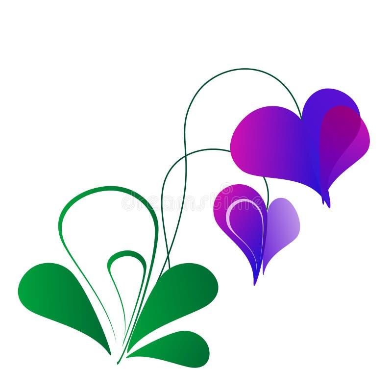Flor do Valentim ilustração do vetor