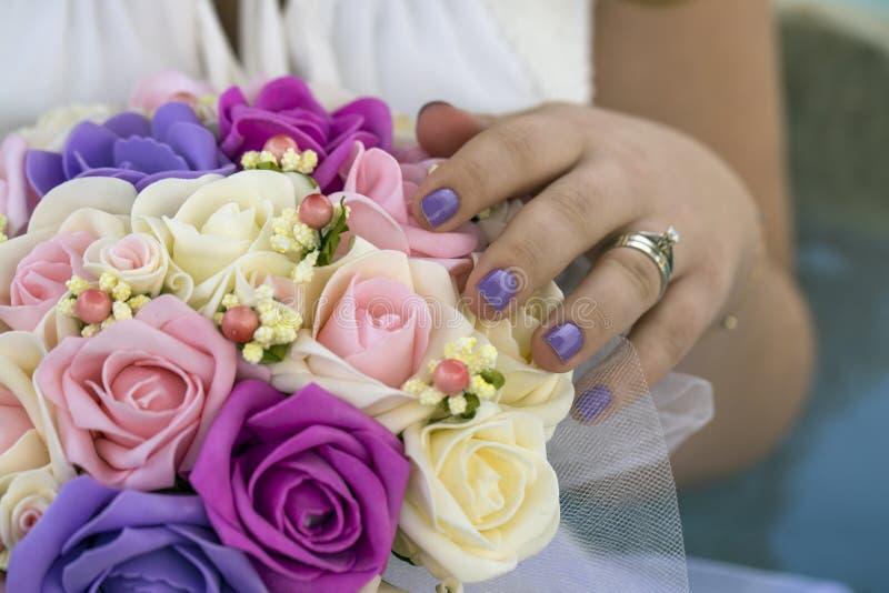 A flor do weddign fotos de stock royalty free
