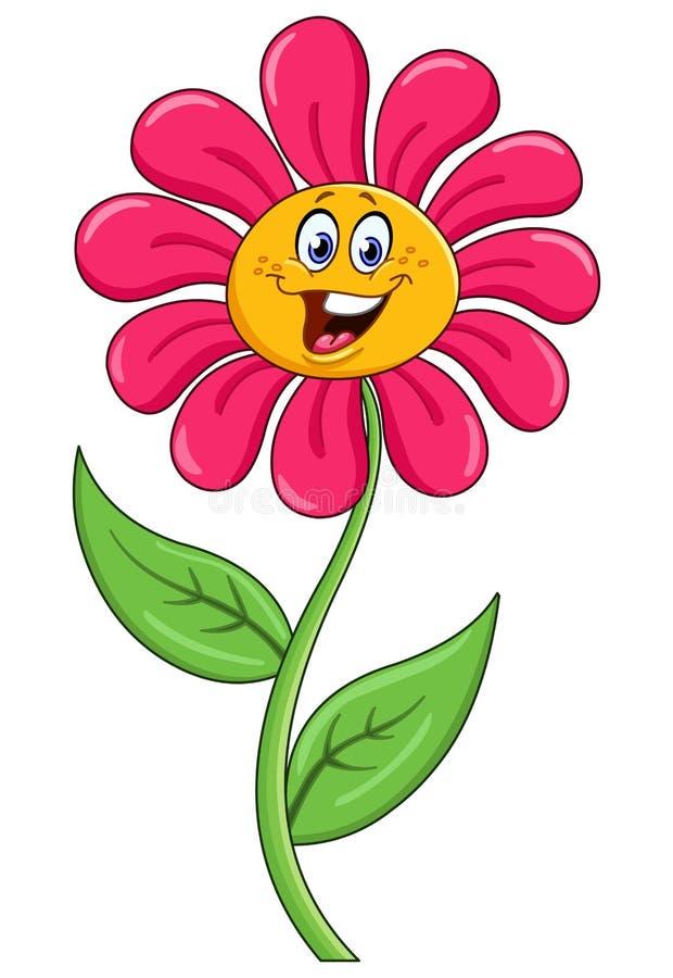 Flor dos desenhos animados ilustração do vetor