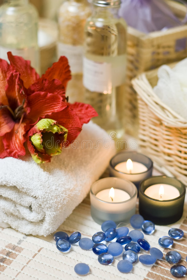 Flor dos termas fotografia de stock royalty free