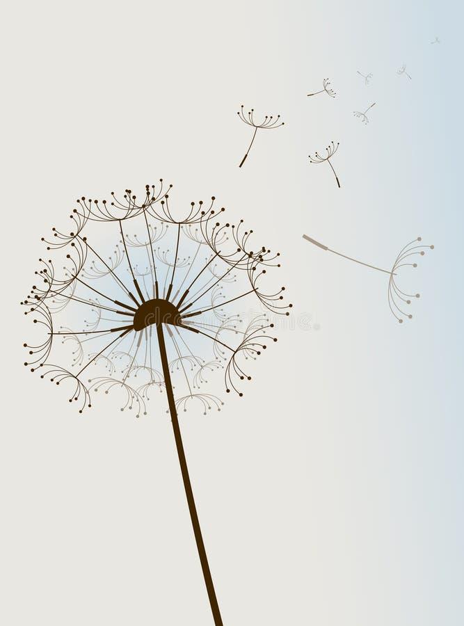 Download Flor en el viento. ilustración del vector. Imagen de biología - 12903911