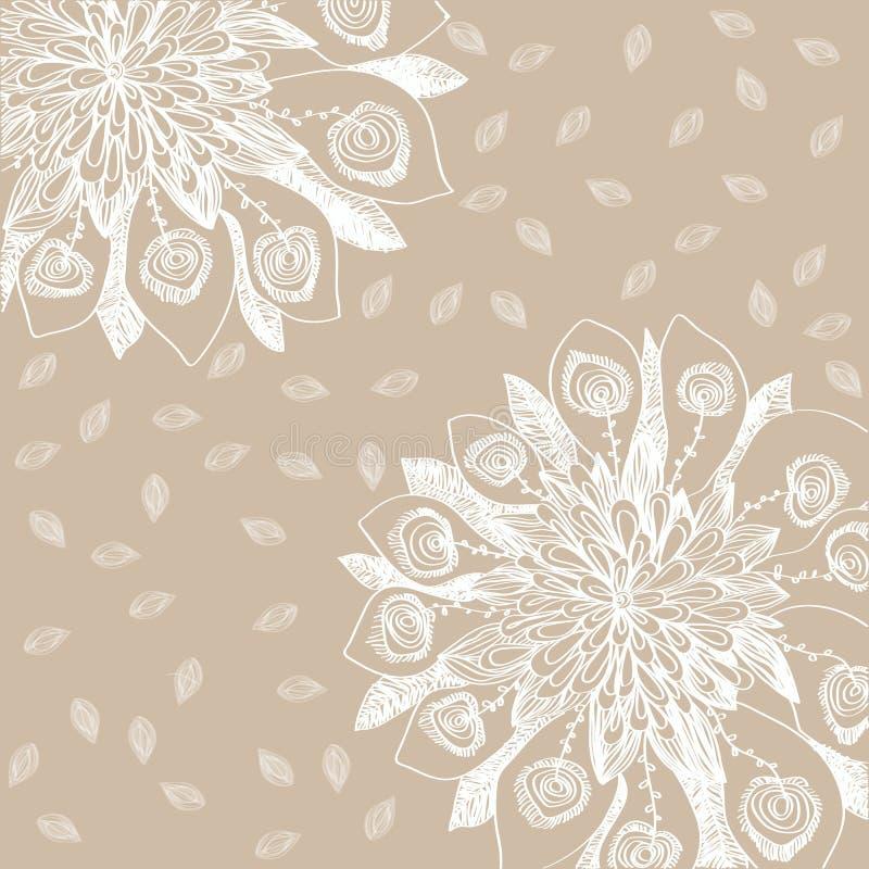 Download Flor en fondo stock de ilustración. Ilustración de ilustración - 44855301