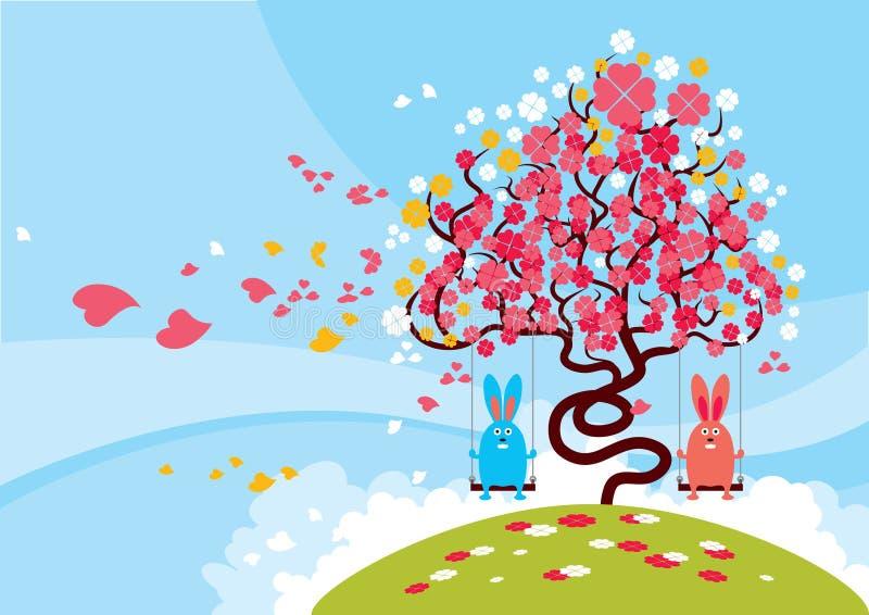 Flor encantadora ilustração royalty free