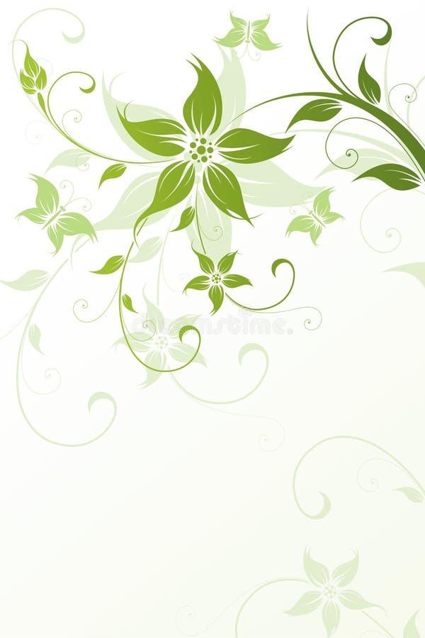 Flor encantadora ilustração stock
