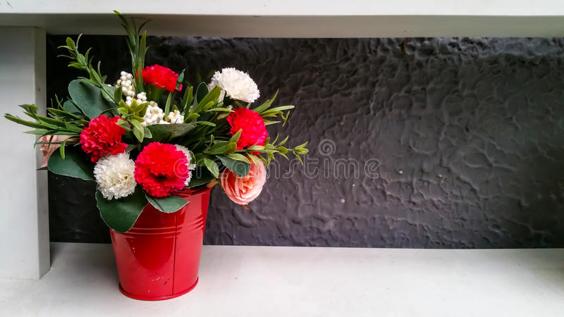 Flor falsa imágenes de archivo libres de regalías