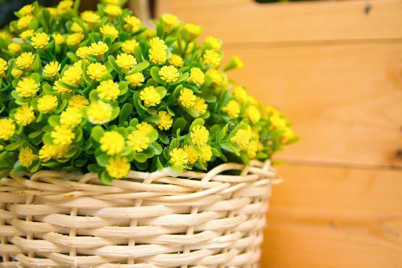 Flor falsificada bonita fotografia de stock royalty free