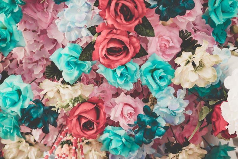 Flor hermosa del ramo para el fondo fotos de archivo