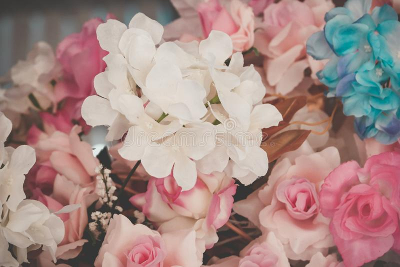 Flor hermosa del ramo para el fondo imágenes de archivo libres de regalías