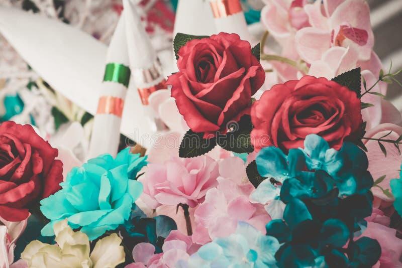 Flor hermosa del ramo para el fondo fotografía de archivo libre de regalías