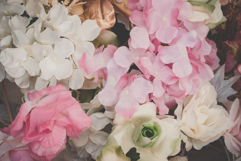 Flor hermosa del ramo para el fondo imagen de archivo