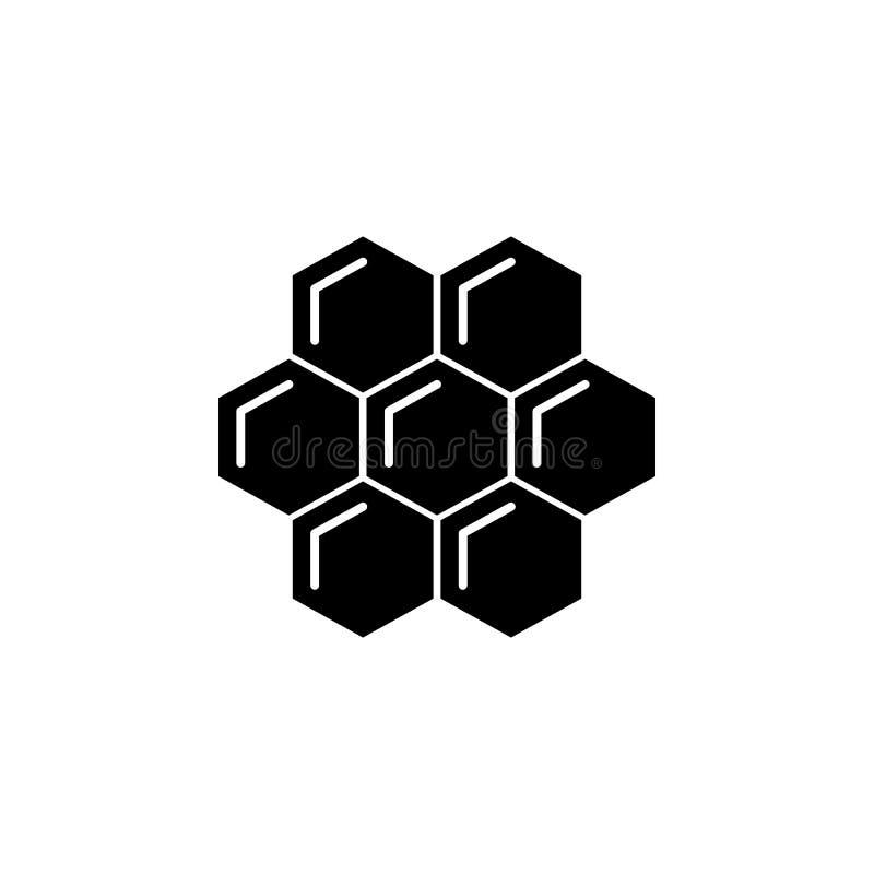 flor, icono de la abeja Elemento del icono de la apicultura Icono superior del diseño gráfico de la calidad Muestras e icono de l libre illustration