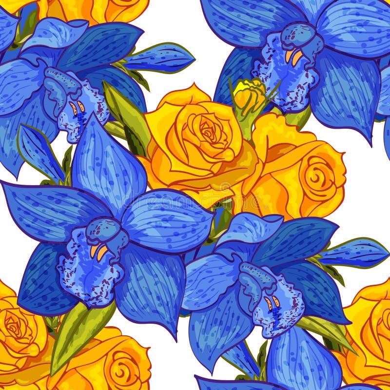 Flor inconsútil del vector libre illustration
