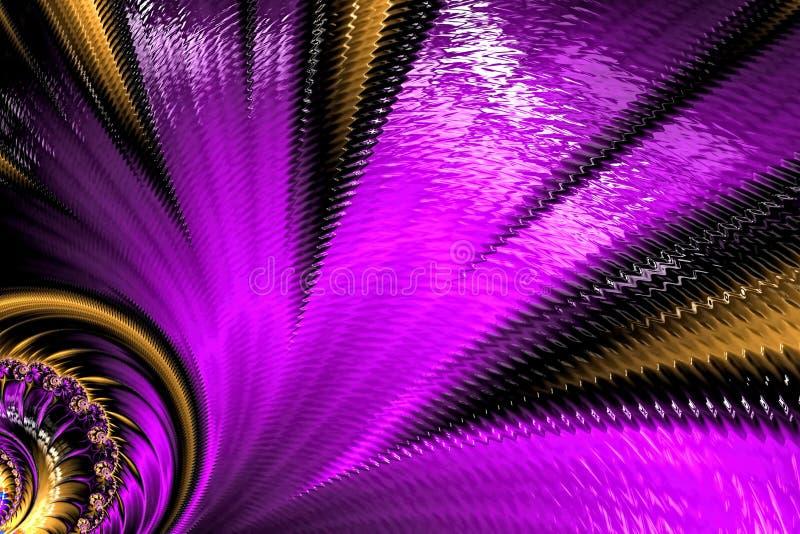 Flor inusual del fractal - imagen digital generada libre illustration