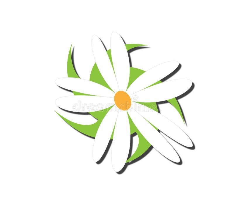 Flor louca ilustração royalty free