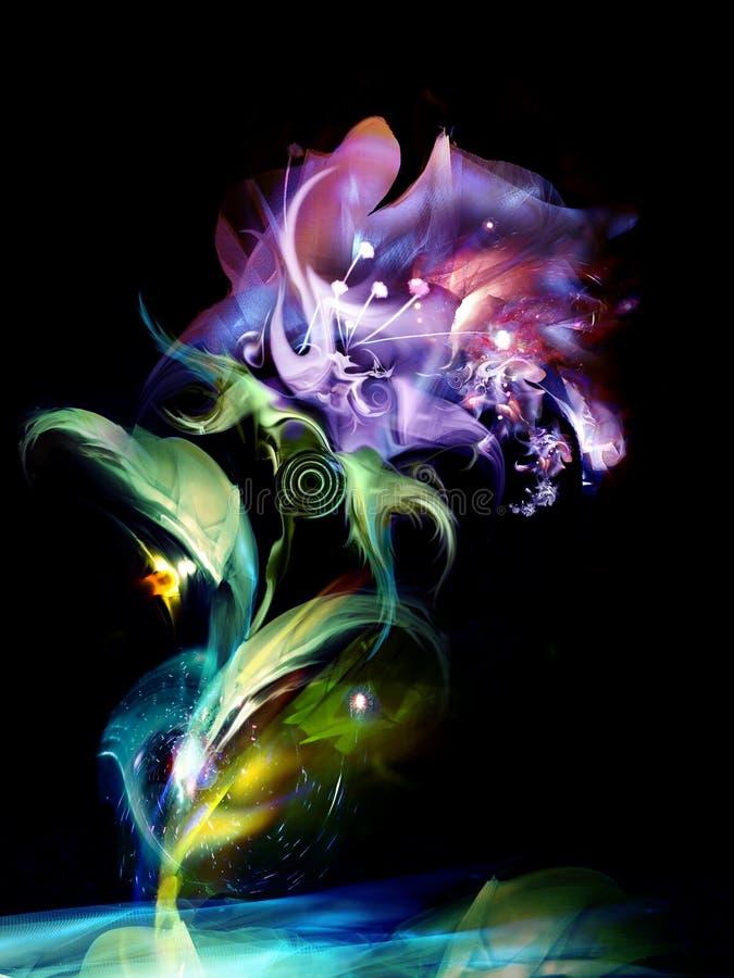 Flor místico ilustração royalty free