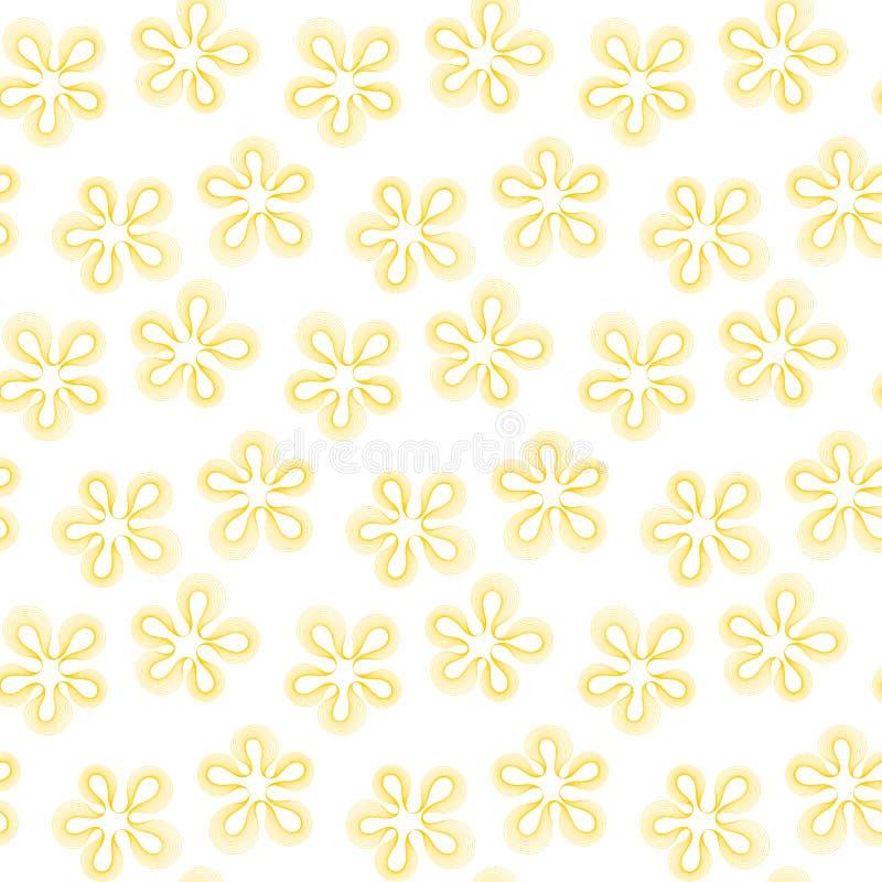 A flor mancha o teste padrão sem emenda geométrico imagens de stock