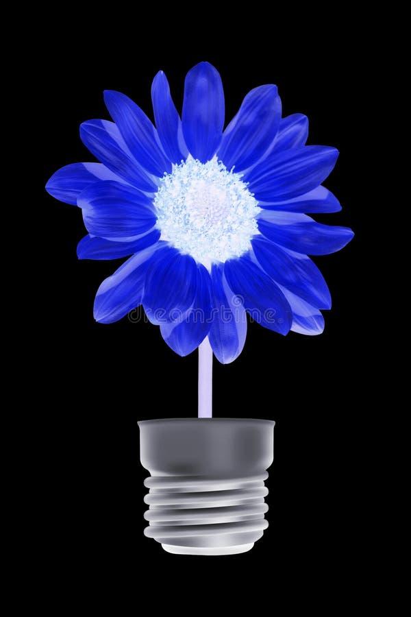Flor na lâmpada fotos de stock