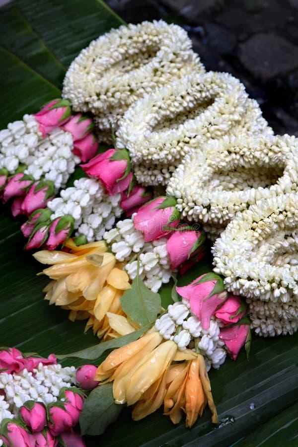 Flor no estilo tailandês da tradição foto de stock royalty free