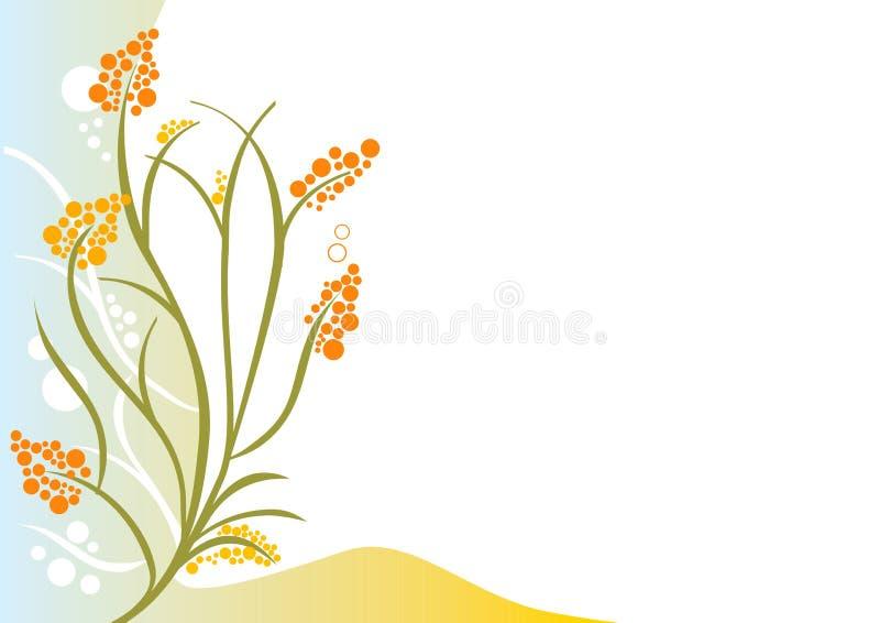 Flor ornamental. ilustración del vector