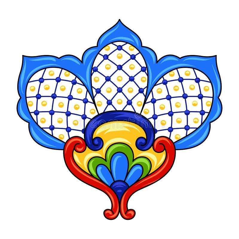 Flor ornamental mexicana libre illustration