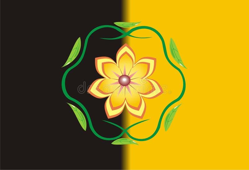 A flor, ornamento. imagens de stock