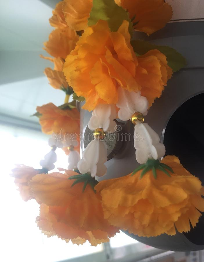 Flor plástica fotografia de stock royalty free