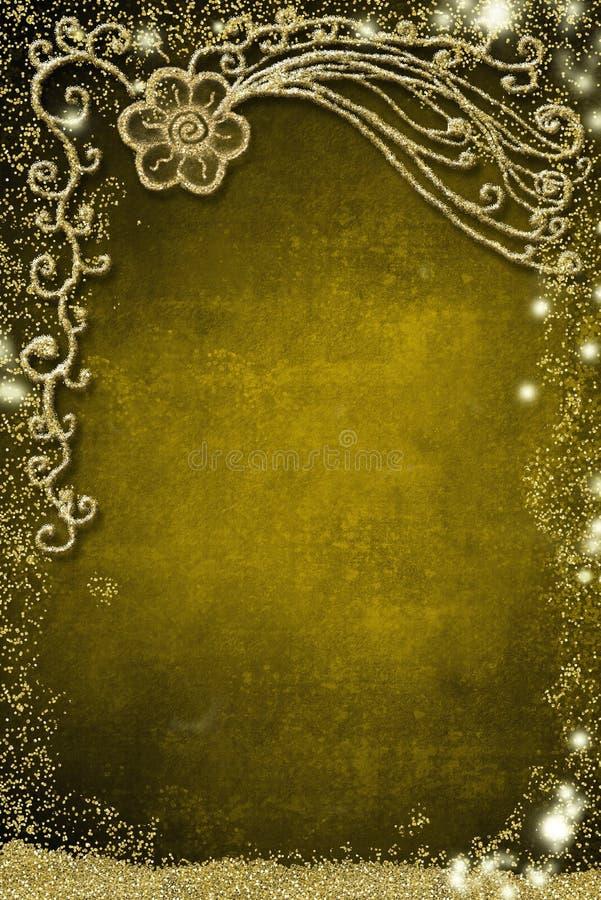 Flor simples, fundo para o cartão das celebrações imagem de stock royalty free