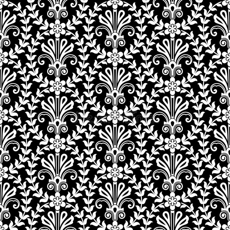A flor soa o teste padrão ilustração royalty free